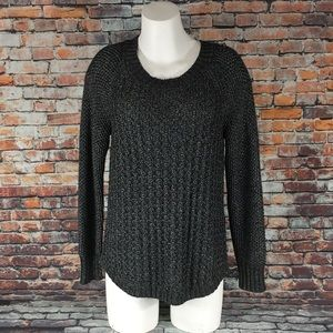Calvin Klein Jean Cable Knit Sweater Women's XL